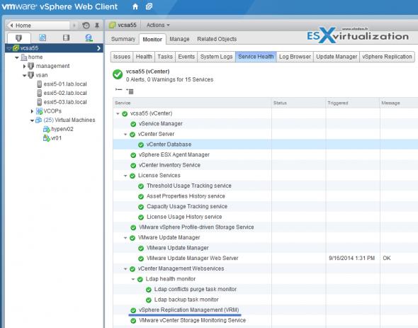 vSphere Replication with single vCenter Server
