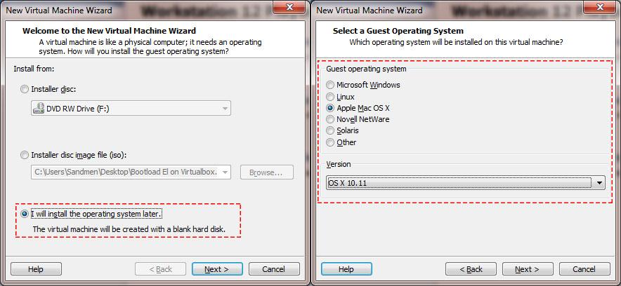 Create New Virtual Machine